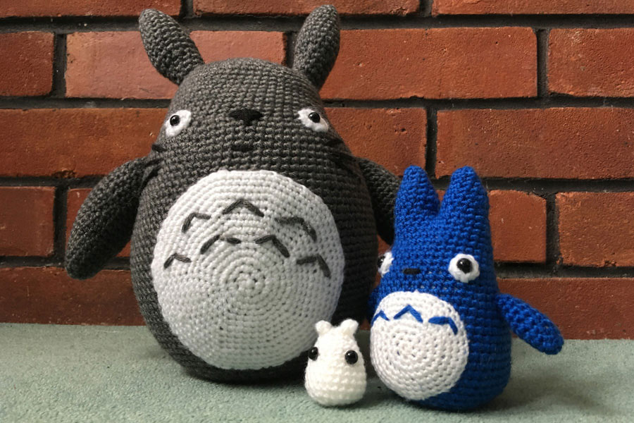 Crocheted amigurumi